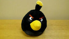 "7"" Angry Birds, Black Bird, Plush Toy, Doll, Stuffed Animal"