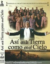 ASI EN LA TIERRA COMO EN EL CIELO (AS IT IS IN HEAVEN)2004-DVD-SPANISH COVER