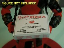1/12 scale Custom Joes Pizza Box for Spiderman Peter Parker