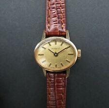Quality Vintage Solid 9ct Gold Ladies TISSOT Mechanical Wrist Watch. 1974. GWO