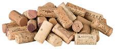 100 vor-geschnittene, gebrauchte Weinkorken zum Pinnwand-Bau Naturkorken (DIY)
