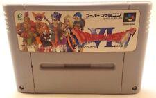 Dragon Quest VI 6 Nintendo Super Famicom SFC SNES Japan Import US Seller