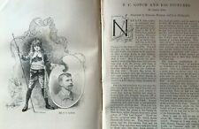 Thomas Cooper Gotch Newlyn School Painter Artist Rare Old Victorian Article 1896