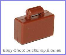 Lego Koffer braun - 4449 - Minifig, Utensil Briefcase Reddish Brown - NEU / NEW