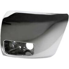 Bumper End Cap For 2007 2013 Chevrolet Silverado 1500 Front Left Side Chrome Fits 2013 Silverado 1500
