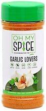 Oh My Spice GARLIC LOVERS Low Sodium Gluten-Free Vegan 5 oz, PALEO FIT SEASONING