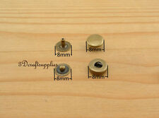 snap fastener poppers Press stud Snap Buttons Anti bronze 40 sets 8 mm i18