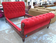 Designer RALPH LAUREN Clivendon Tufted Bed chesterfield style RRP £15 000