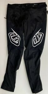 NEW Troy Lee Designs Sprint Cycling Pants Black Size 32