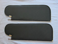 1964-65 nova new sun visors black tier