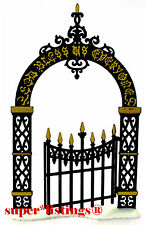 Dept. 56 Christmas Carol Holiday Victorian Wrought Iron Gate 58319/52523