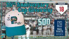 Portland Sea Dogs 25th Anniversary Baseball Hat Red Sox Marlins SGA Vintage Cap