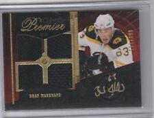 2009 10 OPC Premier Quad Jersey Autograph #124/299 Brad Marchand Boston Bruins