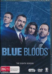 Blue Bloods The Eighth Season 8 Eight DVD NEW Region 4 Tom Selleck