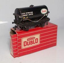 """Hornby Dublo 2/3-rail 00 gauge """"Esso"""" Tank Wagon (4680)"""