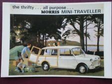 POSTCARD MORRIS MINI TRAVELLER THE THRIFTY ALL PURPOSE CAR