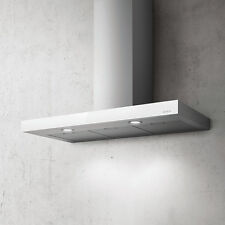 Elica JOY Wall Mounted Hood Stainless Steel White Glass 90cm PRF0104631
