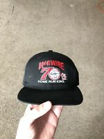 NEW NWT MARK McGWIRE St. Louis Cardinals 70 HOME RUN KING - Vintage SNAPBACK Hat