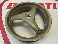 Ducati Brembo 3 spoke rear wheel 748 916 996 998 rims felg 50210101A bronze