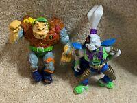 TMNT Teenage Mutant Ninja Turtles General Traag & Usagi Yojimbo Action Figures