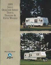 Travel Trailer Brochure - Jayco - Design series - Fifth Wheels - 1995 (MH79)
