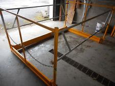 Scaffolding safety guardrail system
