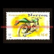 NORTON 750 Commando - FRANCE Moto Timbre Poste Stamp