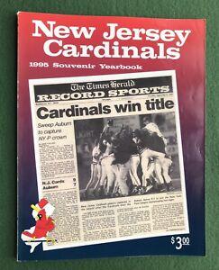 New Jersey Cardinals 1995 Souvenir Yearbook sports Baseball