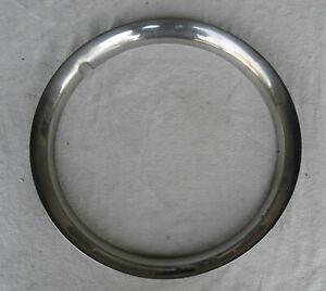"Vintage 15"" Wheel Trim Ring - Beauty Ring - Bright Finish - Early Jaguar?"