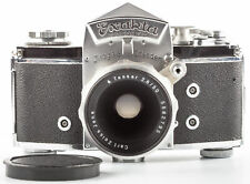 Exakta Varex IIa Kamera mit Carl Zeiss Objektiv Tessar 2,8/50 mm