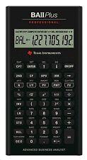 Texas Instruments BAII + Profesional Calculadora Financiera