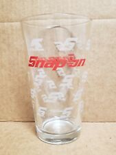 Snap On Drinking Glasses Snap on Tools  Collectable Glass