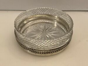 sterling silver butter dish