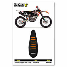 2008-2011 KTM EXC JDR SEAT COVER RIBBED by Enjoy MFG