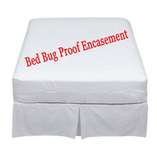 Lab Certifed Bed Bug Proof  Mattress  Encasement   Protector Cover(free sheet)
