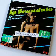PROMO LA SCANDALO ITALY MOVIE SOUNDTRACK VINYL LP ANOUK AIMEE RITZ ORTOLANI NM