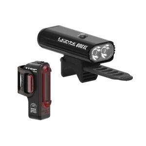 Lezyne Micro Pro 800XL / Strip Light Set - Black