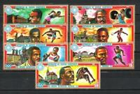 JO verano Guinea ecuatorial (15) serie completo de 7 sellos nuevos