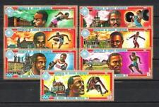 JO estate Guinea equatoriale (15) serie completa di 7 francobolli nuovi