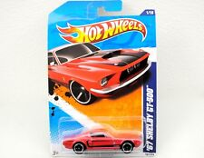 Mattel Hot Wheels 67 Ford Shelby Gt500 Red/Blk Stripes