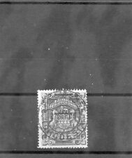 RHODESIA Sc 16(SG 10)F-VF USED 1892 1PD DEEP BLUE $350