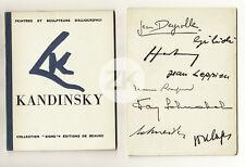KANDINSKY SOULAGES HARTUNG SCHNABEL Allendy Art Abstrait ESTIENNE 2 Doc 1949/50