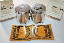 nos Yamaha snowmobile ss440 3rd over pistons & rings 8k4-11637 .75mm over