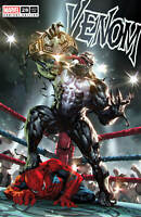Venom 28 Marvel 2020 Kael Ngu Wrestling WWE Belt Spider-Man Trade Variant
