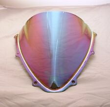 BULLE DOUBLE COURBURE SUZUKI GSXR 600 750 2006 2007 K6 TRANSPARENT IRIDIUM