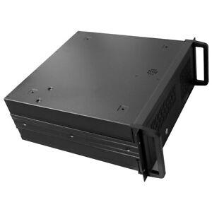 4U Rackmount Server Case - Black