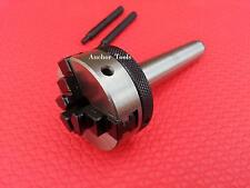 50mm Mini Small Lathe Chuck 3 Jaw Watch Makers MT2 Arbour For Metal Turning Mill