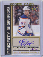 2011-12 UD Upper Deck Ryan Nugent-Hopkins Priority Signings Expo Auto 02/10 Mint
