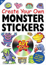 Create Your Own Monster Sticker Maker / Paper Animals Creative Toys/ Activities