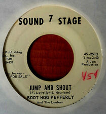 BOOT HOG PEFFERLY - I'M NOT GOING TO WORK - SOUND STAGE 7 - WLP 45